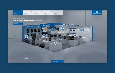 Ein virtueller Messestand schafft ganzjährige Kundenbindung.