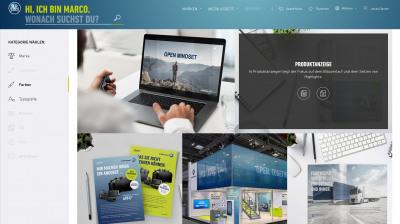 Multimediale Markenseiten